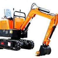 岳山重工小型挖掘机家用果园挖土农用挖土机钩机多功能微挖1吨