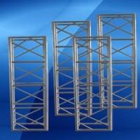 专业定制 400x600mm铝合金桁架舞台架灯光truss架大型龙门架