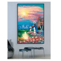 格丽室PE聚酯纤维吸音画 客厅沙发背景餐厅床头墙壁墙面走廊油画类型